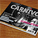 Carnivor - A5 Modern magazine /Catalogue - GraphicRiver Item for Sale