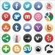 Social Icons Set - GraphicRiver Item for Sale