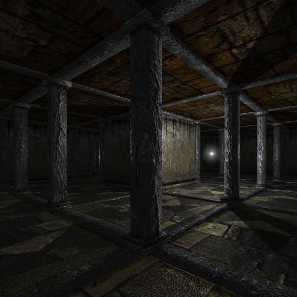 3DOcean Dungeon Tileset01 Base 4625640