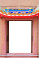 Doors in chinese temple - PhotoDune Item for Sale