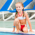 pretty little girl in swimming... - PhotoDune Item for Sale