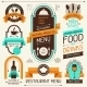 Restaurant Menu, Banners and Ribbons - GraphicRiver Item for Sale