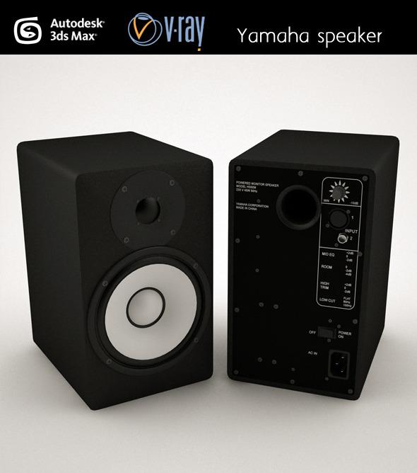 3DOcean Yamaha speaker 4627525