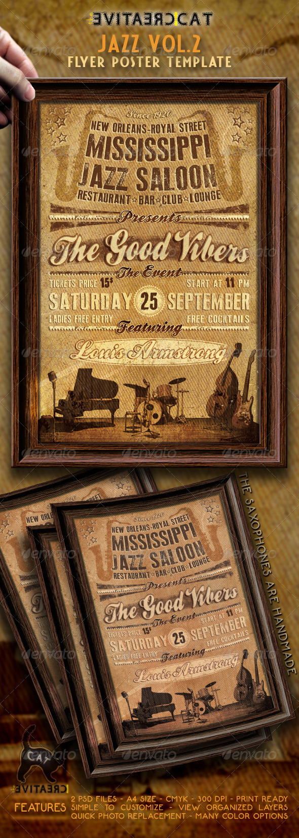 GraphicRiver Jazz Flyer Poster VOL.2 4627727