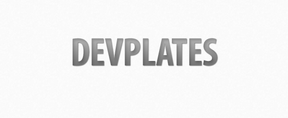 Devplates