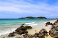 Beautiful rocky beach in thailand - PhotoDune Item for Sale