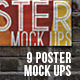 Poster Mock-Up Set - GraphicRiver Item for Sale