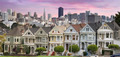 San Franciso Skyline and the Painted Ladies - PhotoDune Item for Sale