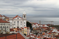 Cityscape of Alfama Lisbon, Portugal buildings - PhotoDune Item for Sale