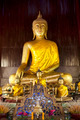 Buddha statue Wat Phan Tao temple Chiang Mai - PhotoDune Item for Sale