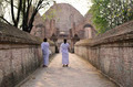 Nuns at Wat Maheyong Temple, Ayutthaya, Thailand - PhotoDune Item for Sale