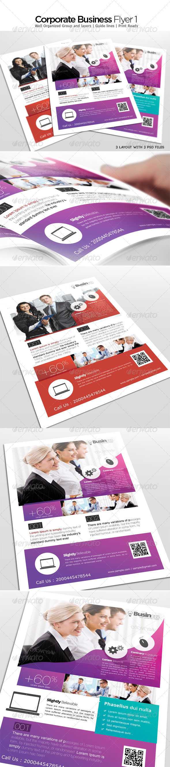 GraphicRiver Corporate Business Flyer 4632416