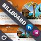 Travel Tours Billboard Temp-Graphicriver中文最全的素材分享平台