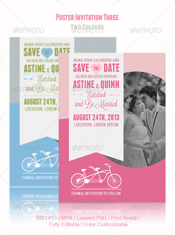 GraphicRiver Poster Invitation Three 4632678