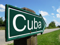 Cuba arrow signpost along a rural road - PhotoDune Item for Sale
