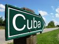 Cuba arrow signpost along a rural road - PhotoDune Item for Sale
