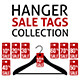 Vector Hanger Sale Tags Collection - GraphicRiver Item for Sale