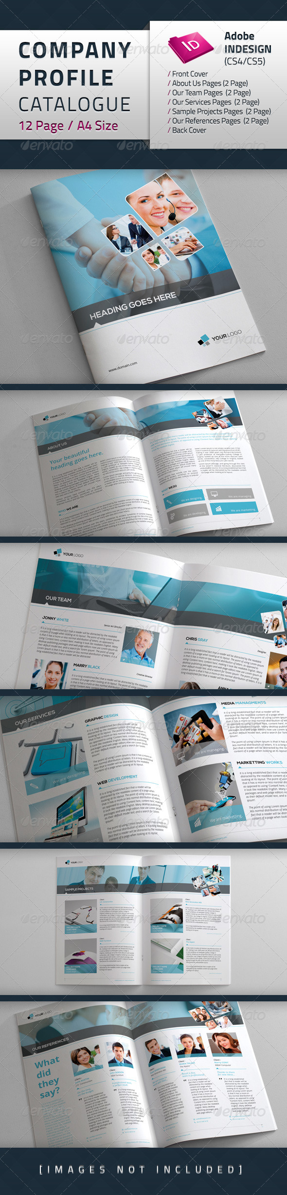 GraphicRiver Company Profile Catalogue 4635264