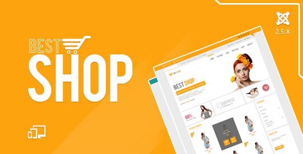 BestShop HTML5 Joomla E-Commerce Template - Retail Joomla