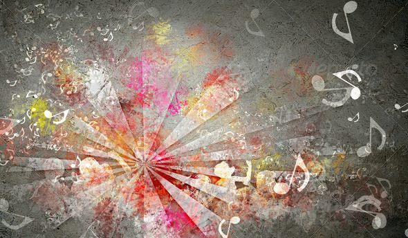 Abstract colorful backgrounds - Stock Photo - Images