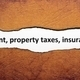 Rent property tax insurance - PhotoDune Item for Sale