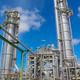Refinery tower with blue sky - PhotoDune Item for Sale