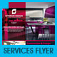 Interiors Design &amp;amp; Home Services Business Flyer - GraphicRiver Item for Sale