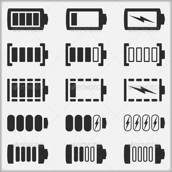 GraphicRiver Batteries 4636776