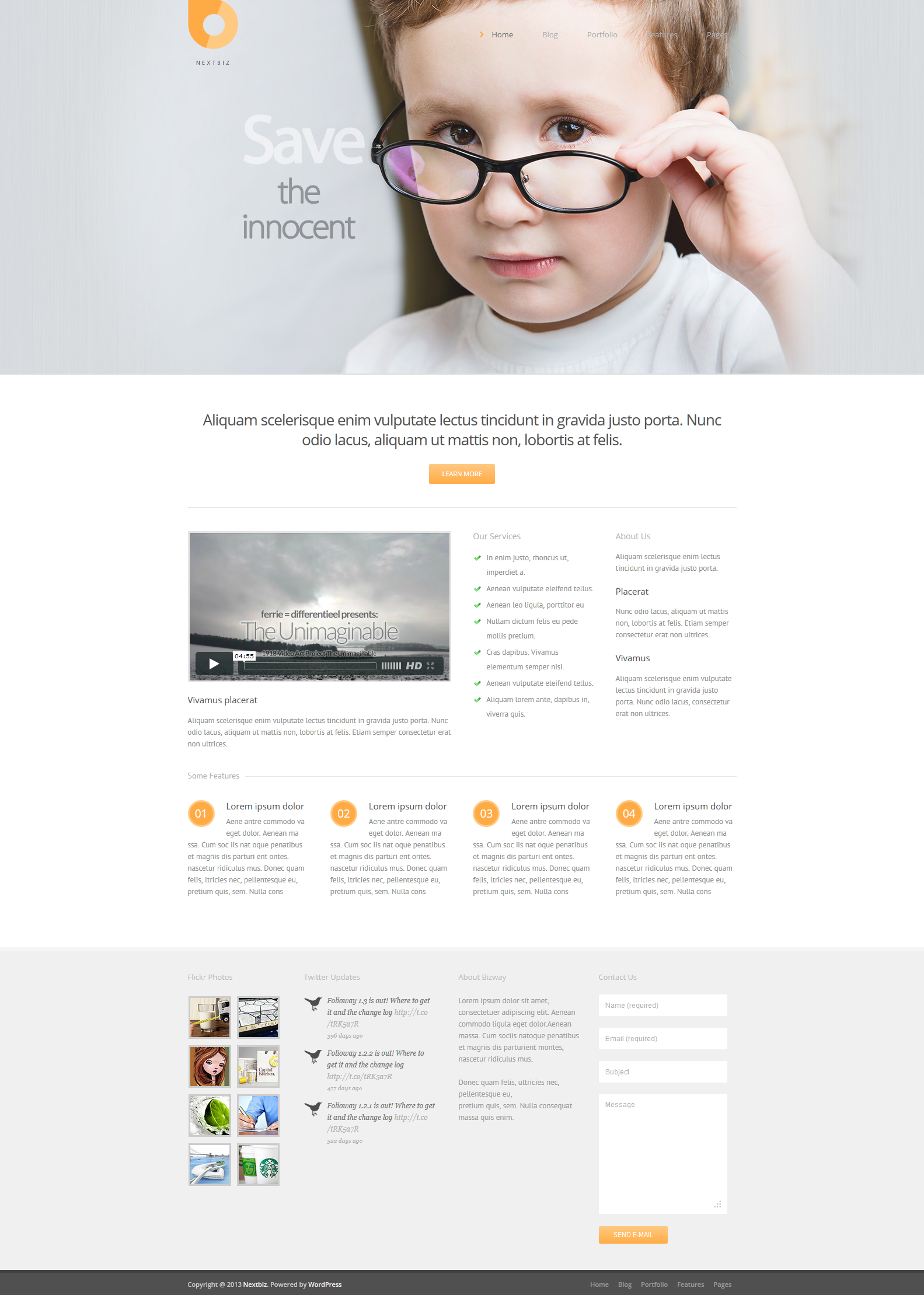 Nextbiz - Responsive Multi-Purpose WordPress Theme
