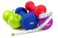 exercise dumb bells and apples  - PhotoDune Item for Sale