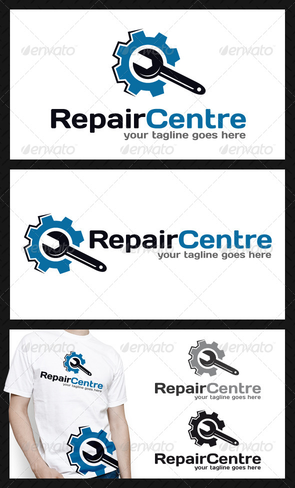 GraphicRiver Repair Service Logo Template 4637774