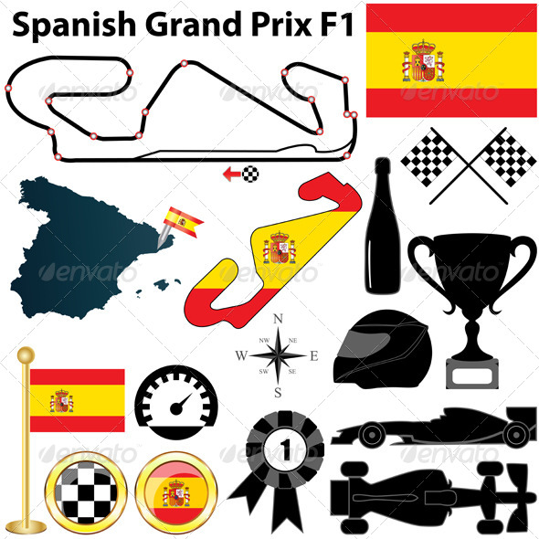 GraphicRiver Spanish Grand Prix F1 4638359