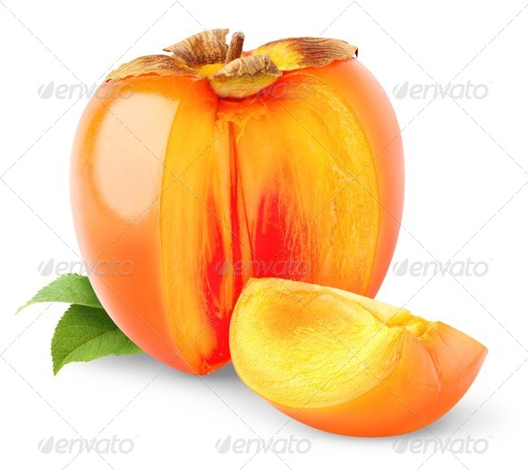 Persimmon fruit - Stock Photo - Images