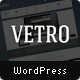 Vetro - A Flat UI WordPress Theme - ThemeForest Item for Sale