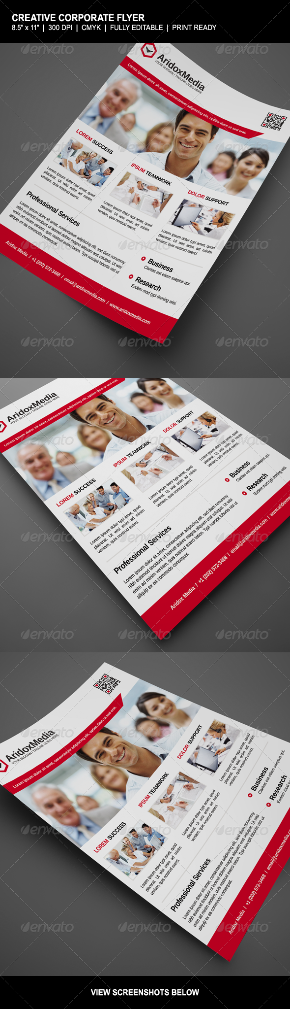 GraphicRiver Creative Corporate Flyer 4639832