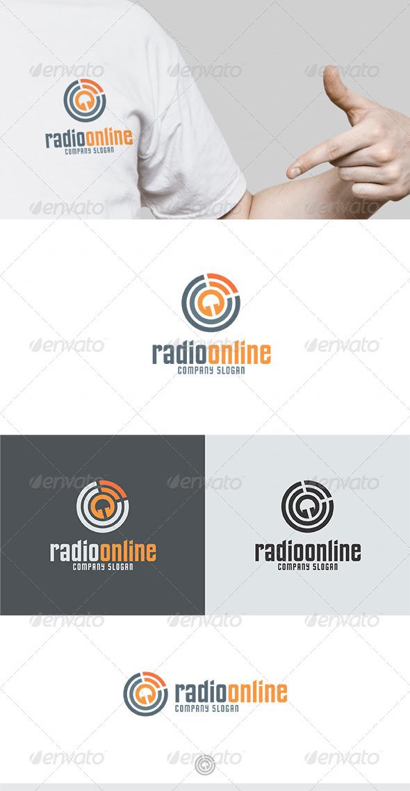 GraphicRiver Radio Online Logo 4640107