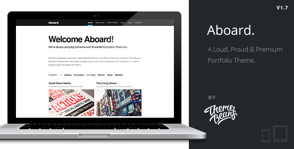 Aboard | Responsive Premium Portfolio Theme - Portfolio Creative