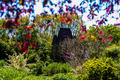 classy aviary structure in botanical garden - PhotoDune Item for Sale