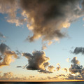 Beautiful sunset sky with clouds - PhotoDune Item for Sale