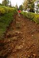 Girl Walks up Steep Rocky Path - PhotoDune Item for Sale