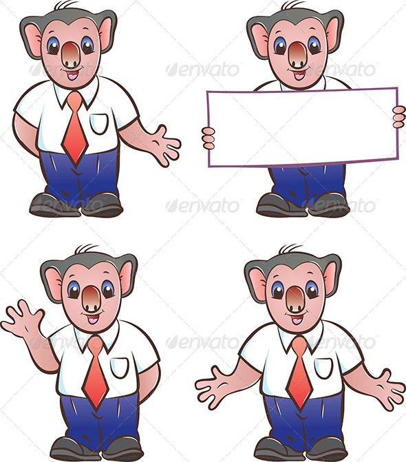 GraphicRiver Koala Mascot 4641419