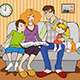 Married Couple with Children - GraphicRiver Item for Sale