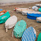Covered boats on a beach - PhotoDune Item for Sale