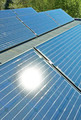 Solar Panels on a Building Roof - PhotoDune Item for Sale