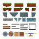 Platforms and Items for Games. - GraphicRiver Item for Sale