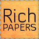 21 Rich Paper Textured Backgrounds - GraphicRiver Item for Sale