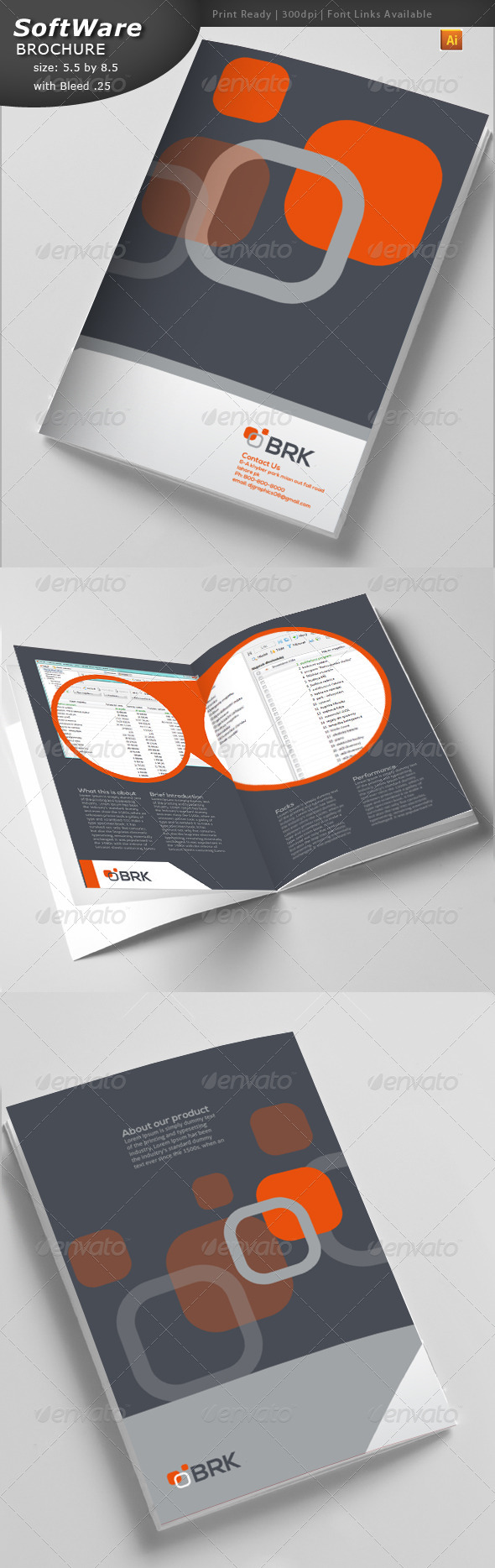 GraphicRiver IT Brochure 4580898