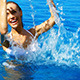 Woman Having Fun in Swimming Pool - VideoHive Item for Sale