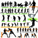 50 Sport Silhouettes Set - GraphicRiver Item for Sale