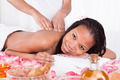 Woman Receiving Massage At Spa - PhotoDune Item for Sale